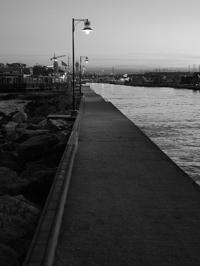 Molo Levante a Cesenatico, di Daniele Prati