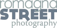 Romagna Street Photography logo scuro